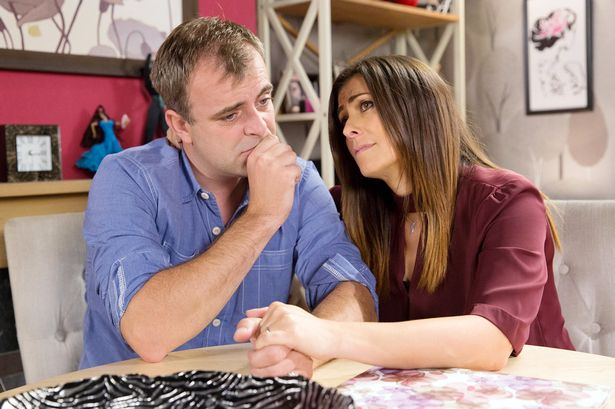 Coronation Street's Steve McDonald showing his fears about inheriting Myotonic Dystrophy