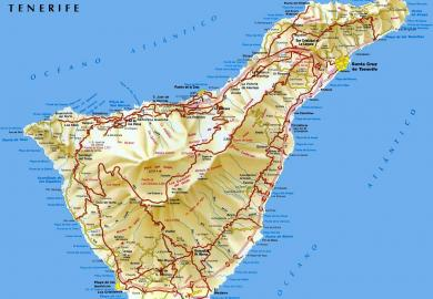 Itinerary - Guided Tenerife Island Tour