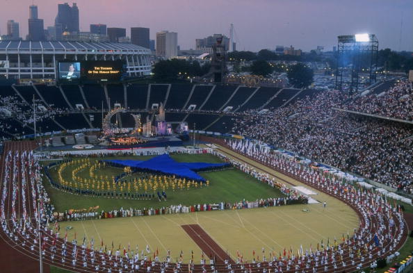 Opening Ceremony of the Atlanta 1996 Paralympic Games. Photo Credit: www.insidethegames.biz