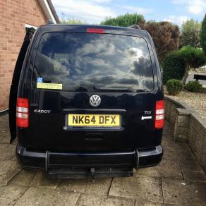 My adapted VW Caddy from Motability
