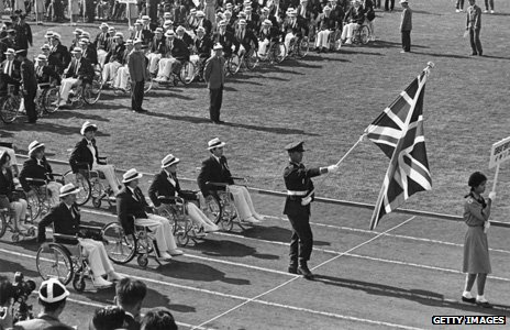 Rome's 1960 Paralympic games