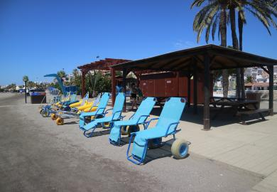 Itinerary - Visit a wheelchair accessible beach - in the city!