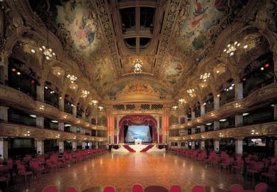Itinerary - Cream Tea at Blackpool Tower Ballroom
