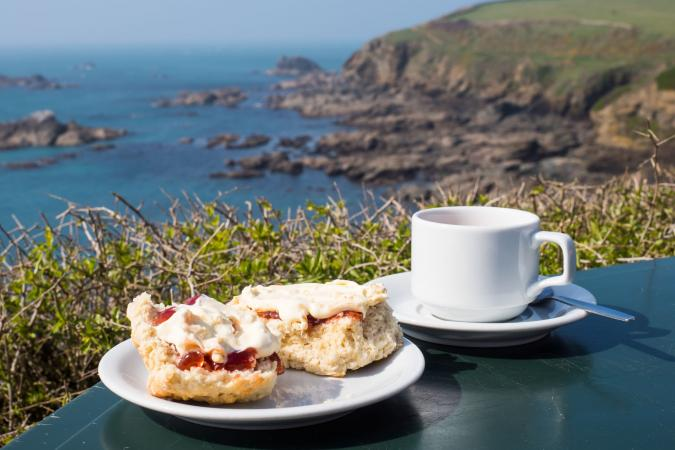 Holiday image - cream tea 1 small