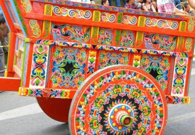 Itinerary - Centennial Ox-Cart Artwork Tour