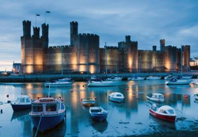 Itinerary - Christmas Shopping in Caernarfon