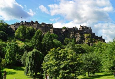 Itinerary - Guided Tour of Edinburgh Castle & Royal Mile