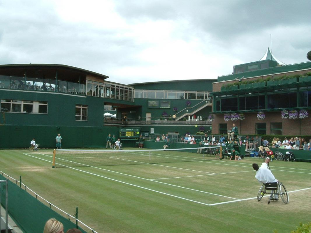 Wimbledon Wheelchair Tennis and Accessibility Seating