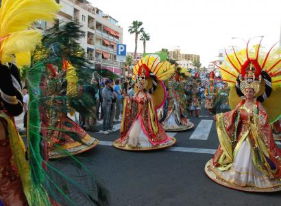 Head to 'The Deep Sea' at Tenerife Carnival 2019!